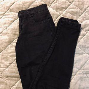Black skinny jeans from Nordstrom,